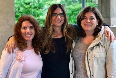 Sisters Elaine, (l), Margaret (c), and Angela (r), keep the family legacy alive at Fotinos Vineyard in Napa Valley. IMAGE: FOTINOS VINEYARD