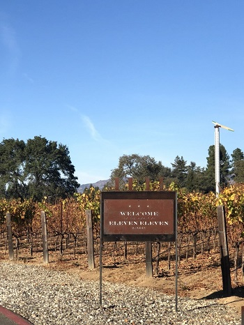 We visited Eleven Eleven Winery on a gorgeous fall day IMAGE: MARIA A. KARAMITSOS